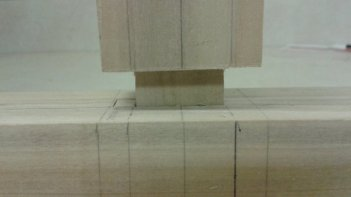 my first mortise and tenon